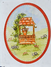 Wishing Well RETIRED U get photo #2 L@@K@examples ART IMPRESSIONS RUBBER STAMPS