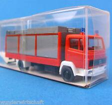 Roskopf H0 462 MB GW 8 Gerätewagen Mercedes Ziegler Feuerwehr OVP HO 1:87 RMM