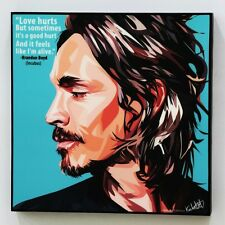 Brandon Boyd Incubus canvas quotes wall decals photo painting pop art poster