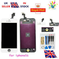 LCD Touch Screen Display Digitizer Assembly Replacement for iPhone 5S White -UK
