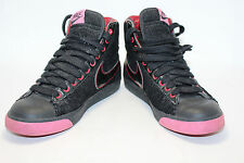Nike Women's Blazer Mid Black / Black-Sport Red-Chn Rose 306499-002 SZ 7.5