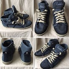 BASKETS SNEAKERS SHOES DIESEL MID NAVY UK 7