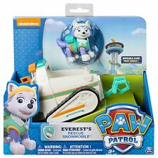 NEW Nickelodeon Paw Patrol Everest's Rescue Snowmobile Vehicle and Figure