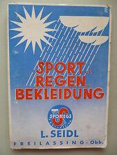 Sport- und Regenbekleidung L. Seidl   Sportbekleidung