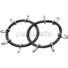 Snow chains, Clamping rubber, Tyre size 13 x 5.00-6, 15 x 6.00-6, 15 x 4.50-8