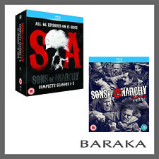 Sons of Anarchy Complete Seasons Series 1 2 3 4 5 & 6 Blu ray Box Set RB New