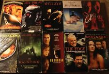 Lot of 10 HORROR VHS Tapes - The Seventh Sign  12 Monkeys  Anaconda +