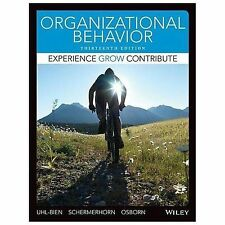 Organizational Behavior, Binder Ready Version