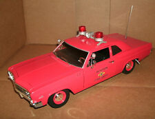 1/18 Chevy Biscayne 427 Coupe Diecast Model - 1966 Boston Fire Dept Chiefs Car