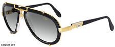 CAZAL 642 SUNGLASSES AVIATOR LEGEND BLACK GOLD (001) AUTHENTIC NEW