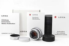 [Near Mint] Leica Elmar-M 50mm F/2.8 E39 Lens in Silver w/Box (143023-R290)