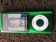 Apple Ipod Nano 5th generación 16gb Verde. con Funda, Cables Bundle MP3 Excelente