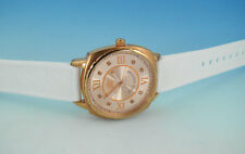 JUICY COUTURE Women's Rose Gold-Tone WATCH w White Silicone Rubber Strap