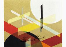 Arte tarjeta postal-Bauhaus-làszlò Moholy-Nagy: composición Z VIII, 1924