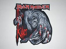 IRON MAIDEN KILLERS EMBROIDERED BACK PATCH