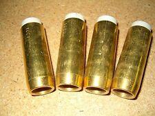 """5-Pack Bernard 4391 5/8"""" Brass Welding Nozzles fits 200/300 Amp MIG Welding Guns"""