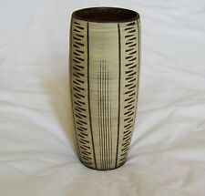 Erhard GOSCHALA West German Modernist Sgraffito Art Pottery Vase