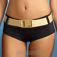 Freya Swimwear Supernova Bikini Shorts/Bottoms Black/Gold NEW 9536 Select Size