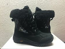 UGG ADIRONDACK II QUILTED BLACK Bella Boot US 8 / EU 39 / UK 6.5 - NEW