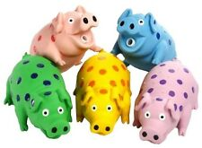 "Multipet 9"" Latex Polka Dot Goblet Pig Dog Toy Assorted"