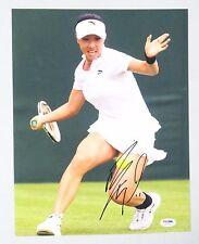 Zheng Jie Signed 8x10 Photo Autographed  COA PSA/DNA Certified Sticker Tennis