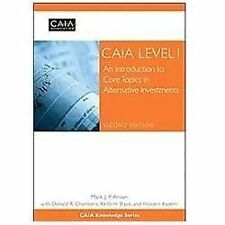Wiley Finance Ser.: CAIA Level I : An Introduction to Core Topics in...