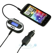 3.5mm CAR Radio FM Transmitter Accessory For MP3 MP4 iPhone 5 5C 5S 4G 4S iPod