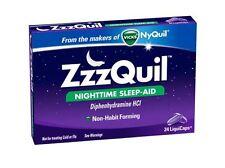 ZzzQuil Nighttime Sleep-Aid LiquiCaps 24 LiquiCaps