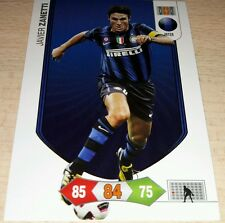 CARD ADRENALYN CALCIATORI PANINI INTER ZANETTI CALCIO FOOTBALL SOCCER