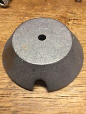 """Vintage Metal Lamp Base  Weight - 5"""" X 1.5"""" - 3 Lbs - From Stiffel Lamp - Parts"""
