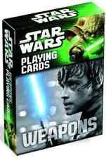 STARWARS weapons playing cards by ASA Cartamundi Altenburger Star Wars-armi