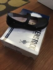 Birkenstock Iona Black Leather Women Size 38N And 41N
