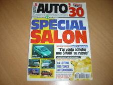 AUTO 30 N° 8 Spécial mondial de l'auto.