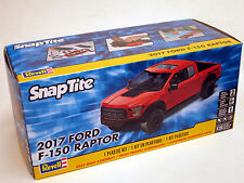 Revell 1/25  2017 Ford F-150 Raptor  Plastic Model Kit 85-1985 Snap RED