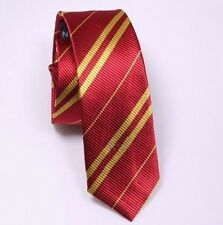 NEW RED & YELLOW HARRY POTTER  GRYFFINDOR TIE HOGWARTS UK HARRY POTTER HERMIONE
