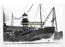 rp01966 - Launch of Lightship LV16 - photo 6x4