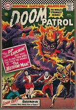 DOOM PATROL #103 DC 05/66 VS THE METEOR MAN + ROBOTMAN-IAC SOLO STORY VG+