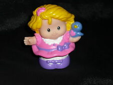 Fisher Price Little People Easter Church Girl SARAH in Pink Bird
