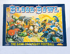 CITADEL Warhammer BLOOD BOWL 4th Edition BOARD GAME - UNPUNCHED!!!