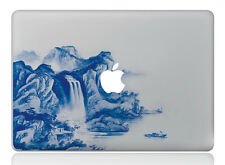 Macbook 15 inch decal sticker water fall and apple art for Apple Laptop