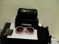 Authentic CHANEL 5239 SUNGLASSES COLOR Pink frame