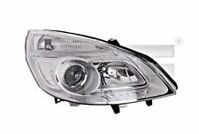 Chrome Headlight Front Lamp Right Fits RENAULT Scenic II 2 2006-