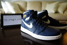 Nike Air Jordan High 1 Retro Jeter Collection Size 8  Midnight Navy 715854-402