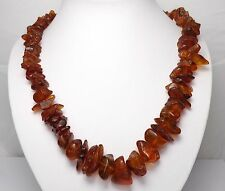 925 STERLING SILVER BALTIC AMBER NECKLACE JEWELLERY
