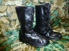"""LACROSSE 14"""" RUBBER BOOTS OVERSHOES 5 BUCKLE SIZE 10 OVERBOOT New"""