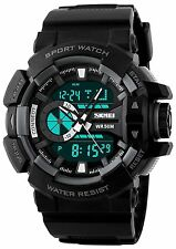 Skmei Analog-Digital Multicolour Dial Men's Sports Watch !!