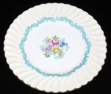 "Minton, S363, ARDMORE TURQUOISE, Ivory Rim, 9"" Salad Plate"