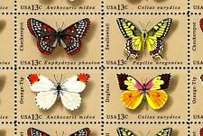 1977 - BUTTERFLIES - #1712-15 Full Mint -MNH- Sheet of 50 Postage Stamps