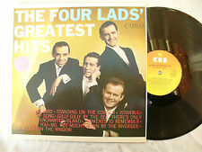 THE FOUR LADS LP GREATEST HITS uk cbs 32410 near mint