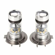 2 x H7 100W 2828 20SMD LED Brouillard Bulbe Conduite voiture Head Light Bright